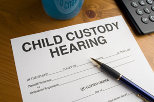 Child custody document
